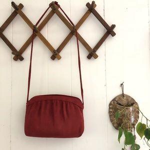 Andé • Vintage Suede Shoulder Bag